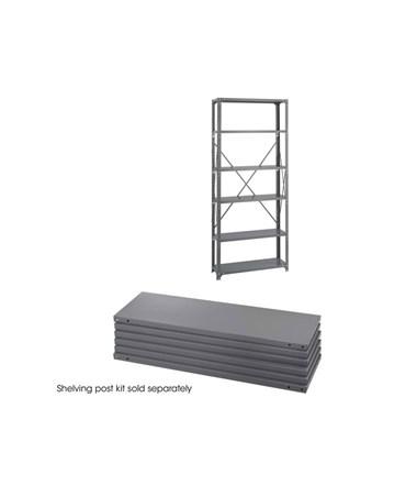 Safco Industrial 6 Shelf Pack SAF6250-