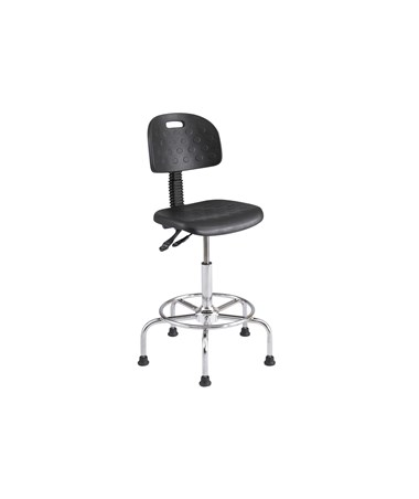 Safco WorkFit Deluxe Industrial Drafting Chair SAF6952BL