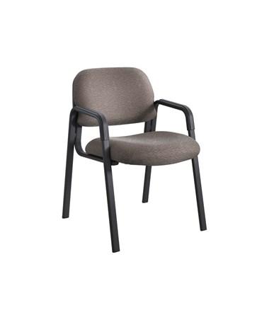 Safco Cava Urth Guest Chair Straight Leg, Brown 7046BR