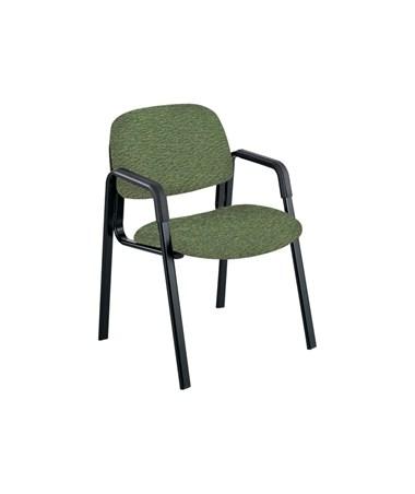 Safco Cava Urth Guest Chair Straight Leg, Green 7046GN