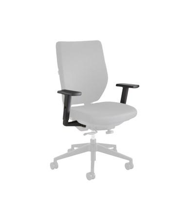 Safco Sol Adjustable T Pad Armrests (Qty. 2) 7064BL