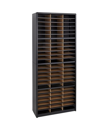 SAFCO7131-Value Sorter® Literature Organizer, 72 Compartment SAF7131