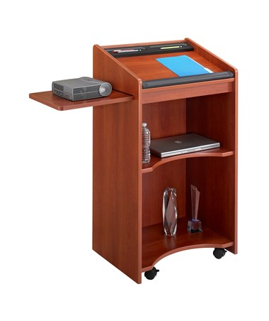 SAFCO8918-Executive Mobile Lectern SAF8918
