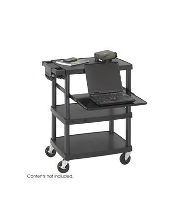 SAFCO8942GR-Impromptu® AV Cart Gray SAF8942GR