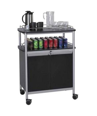 Safco Mobile Beverage Cart SAF8964BL
