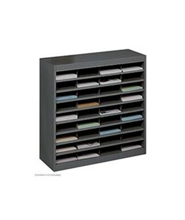 SAFCO9221-E-Z Stor® Literature Organizer, 36 Letter Size Compartments SAF9221