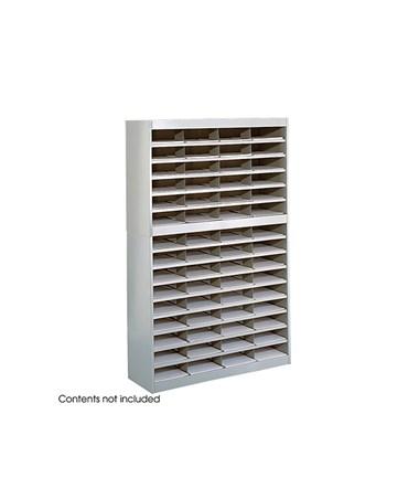 SAFCO9231-E-Z Stor® Literature Organizer, 60 Letter Size Compartments SAF9231