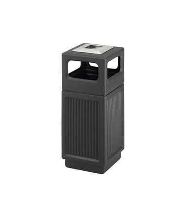 Safco Canmeleon Recessed Panel Waste Receptacle SAF9474BL-