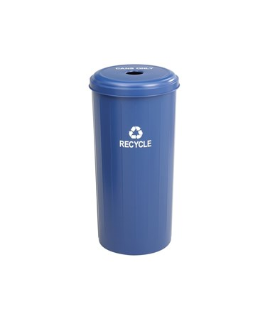 Safco Tall Round Recycling Receptacle SAF9632BU