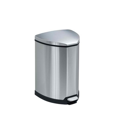Safco Stainless Step-On Receptacle SAF9685SS-