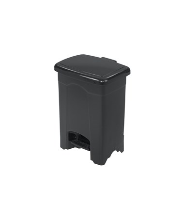 Safco Plastic Step-On Receptacle, 4 Gallons SAF9710BL-