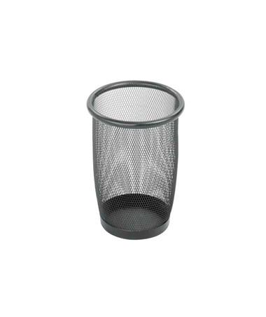 Safco Onyx Mesh Round Wastebasket (Qty. 3) SAF9716BL-