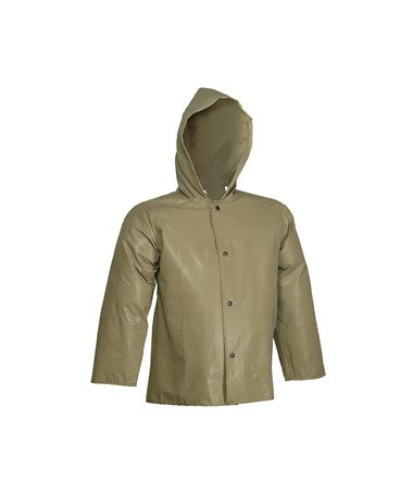 Flame Resistant Liquidproof Jacket Olive Drab