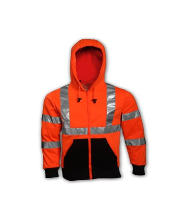 Class 3 Hooded High Visibility Sweatshirt