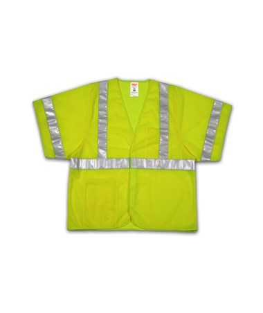"TINGLEY ANSI 107 CLASS 3 SAFETY VESTS -  Mesh - 2"" Reflective Tape - Hook & Loop Closure TINV70022"