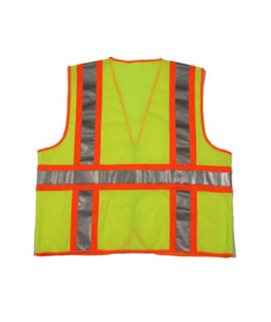 Back of the surveyor vest