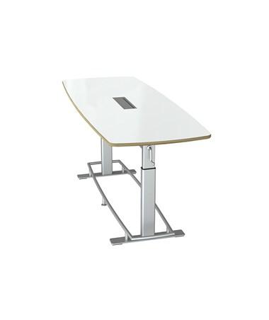 White Dry Erase Markerboard Table Top Veneer