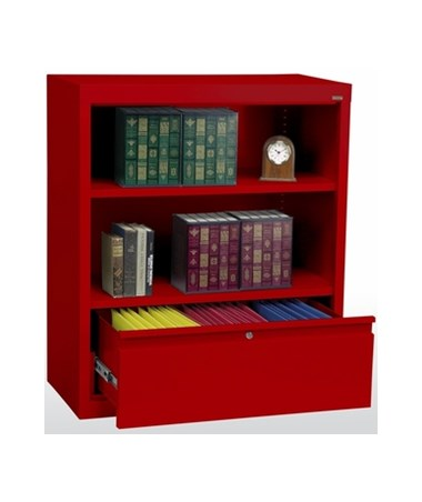 With One Shelf - Red