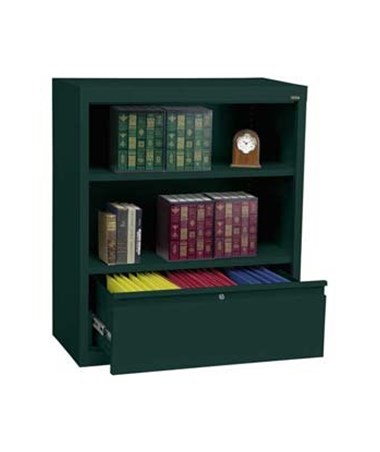With One Shelf - Forest Green