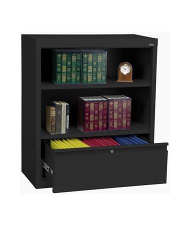 With One Shelf - Black