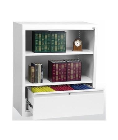 With One Shelf - White