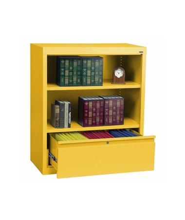 With One Shelf - Yellow