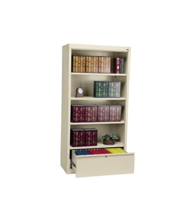 With Three Shelves - Putty