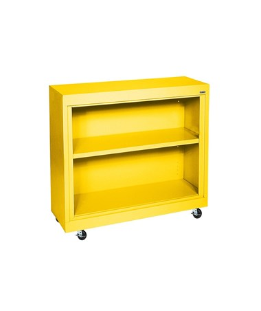 With One Shelf - Yellow