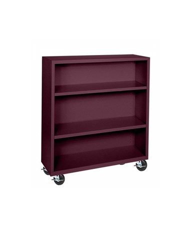 With Two Shelves - Burgundy