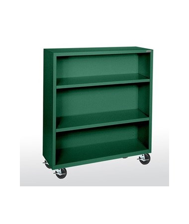 With Two Shelves - Forest Green