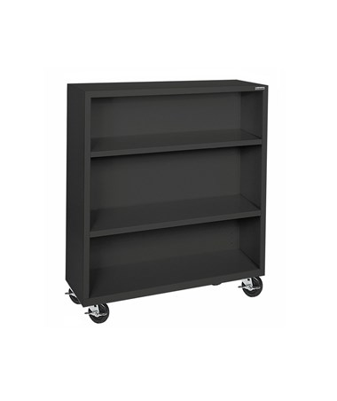 With Two Shelves - Black