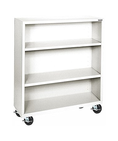 With Two Shelves - White