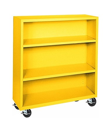With Two Shelves - Yellow