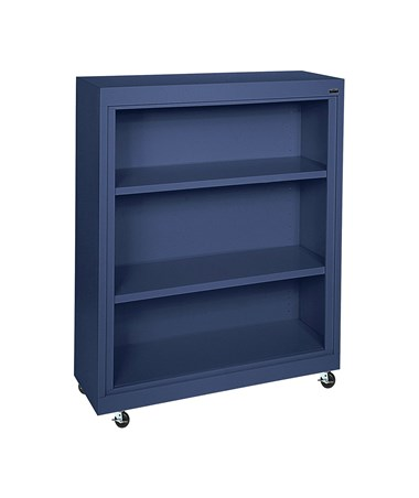 With Two Shelves - Navy Blue