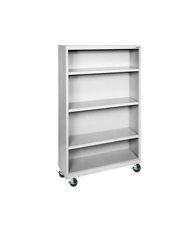 With Three Shelves - Dove Gray