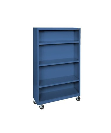With Three Shelves - Blue