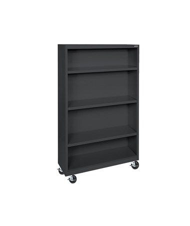 With Three Shelves - Black