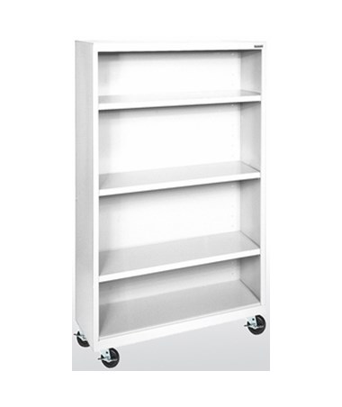 With Three Shelves - White