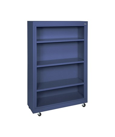 With Three Shelves - Navy Blue