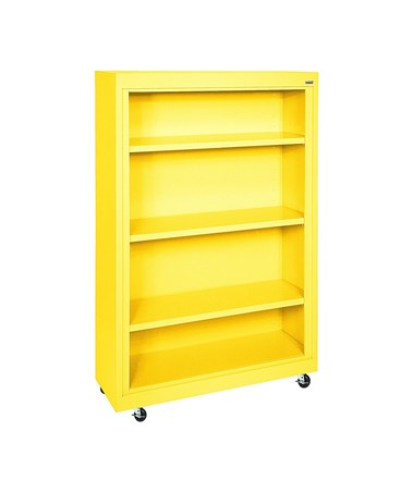With Three Shelves - Yellow
