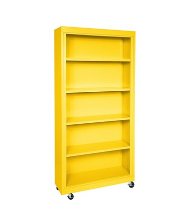 With Four Shelves - Yellow