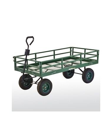 CW6031 Sandusky Lee 1400 lb Capacity Heavy Duty Steel Crate Wagon