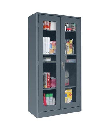 Clear View Doors - Charcoal
