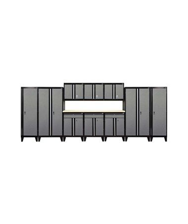 11-Piece Set - Black/Multi Granite