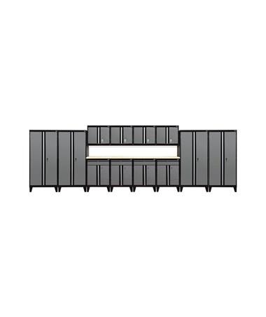 14-Piece Set - Black/Charcoal