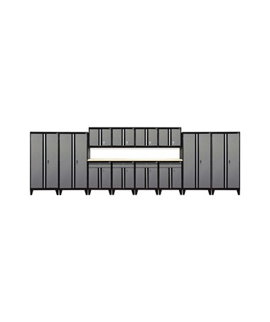 14-Piece Set - Black/Multi Granite