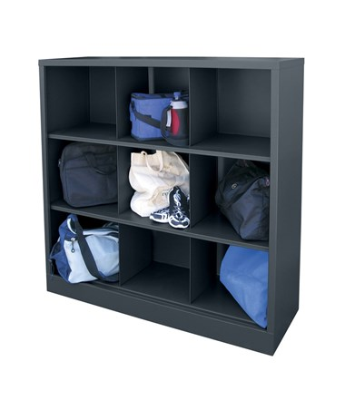 9 Compartments - Charcoal