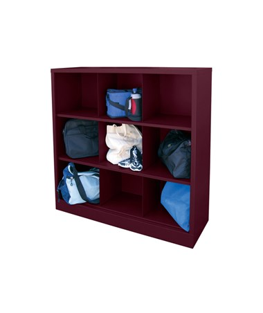 9 Compartments - Burgundy