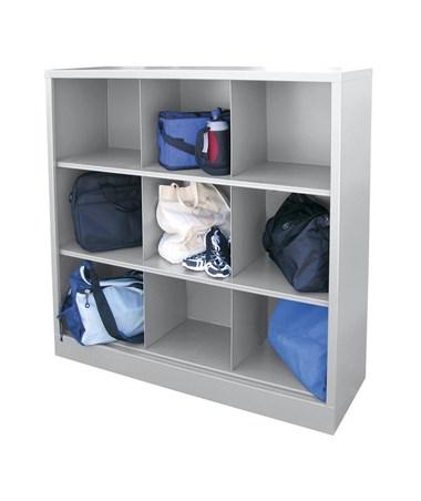 9 Compartments - Dove Gray