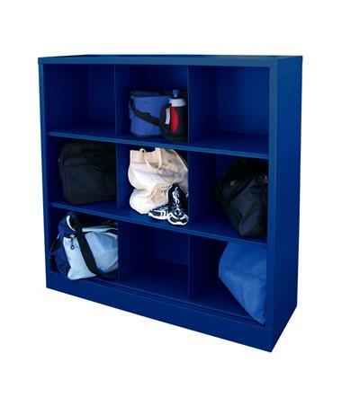 9 Compartments - Blue